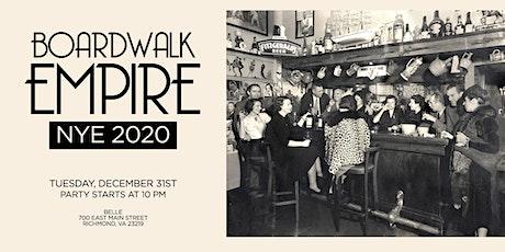 Boardwalk Empire 2020 NYE at Belle tickets