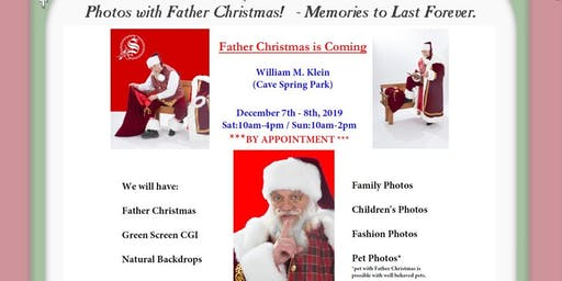 Cave Spring Park Welcomes Father Christmas