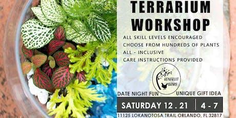 Holiday Terrarium Workshop tickets