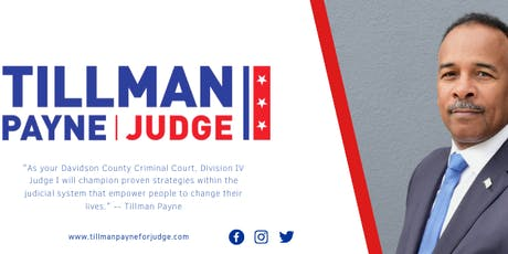 Tillman Payne for Judge Campaign Rally tickets