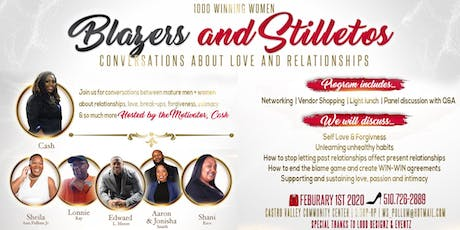 Blazers and Stilettos Conversations about Love and Relationships. tickets