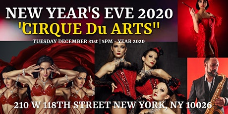 NEW YEAR'S EVE PARTY AT THE CECIL STEAKHOUSE tickets