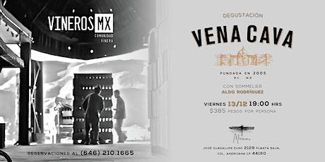 Degustación de Vena Cava por vinerosMX entradas