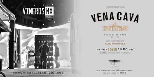 Degustación de Vena Cava por vinerosMX