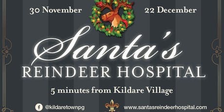 Santa's Reindeer Hospital (Weekday Tickets) tickets