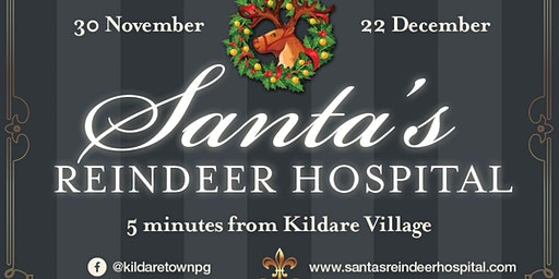 Santa's Reindeer Hospital (Weekday Tickets)