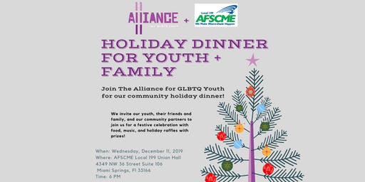 Holiday Dinner for Youth + Family