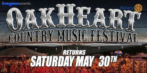 The 2020 OakHeart Country Music Festival