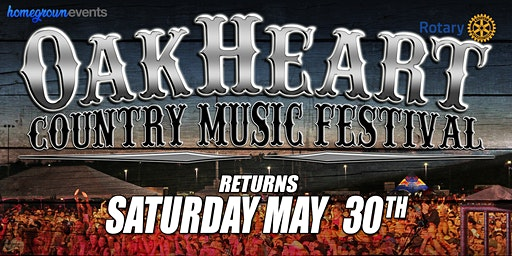 The 2020 OakHeart Country Music Festival