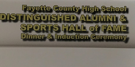 Fayette County High School 2020 Hall of Fame Induction Banquet tickets