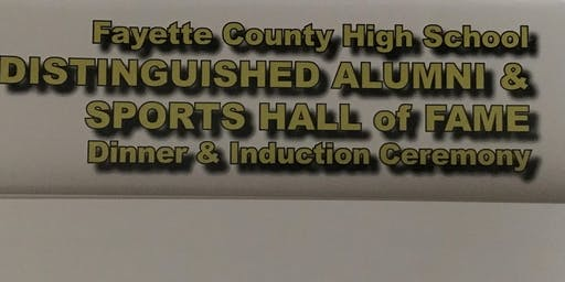Fayette County High School 2020 Hall of Fame Induction Banquet