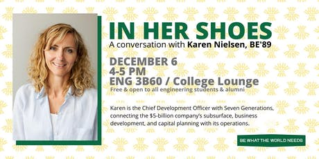 A Conversation with Karen Nielsen (BE'89), Seven Generations Energy tickets