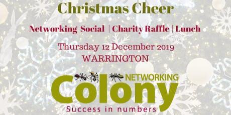Christmas Networking (Warrington) - 12 Dec 2019 tickets