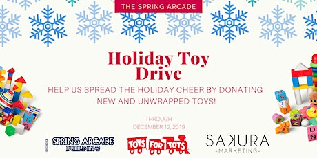 Toy Drive at The Spring Arcade tickets