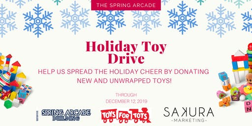 Toy Drive at The Spring Arcade
