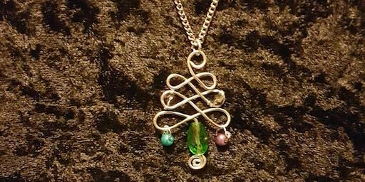 Jewellery Taster Workshop: Christmas Tree Pendant