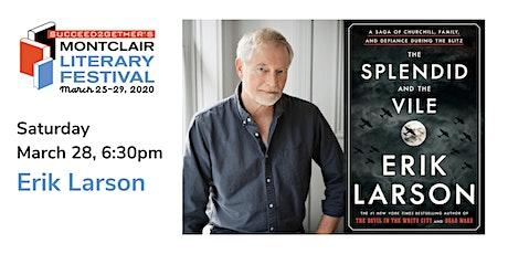 Book Talk – Erik Larson: The Splendid and the Vile tickets