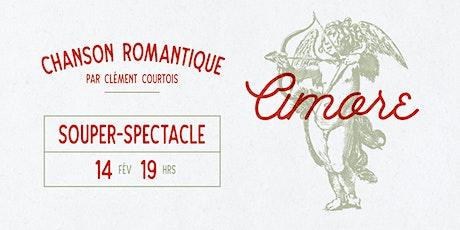 Chanson romantique par Clément Courtois billets