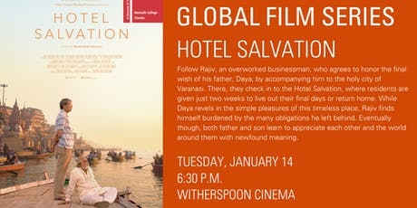 Global Film Series: Hotel Salvation tickets