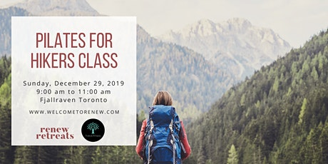 Pilates for Hikers Class + Meetup tickets