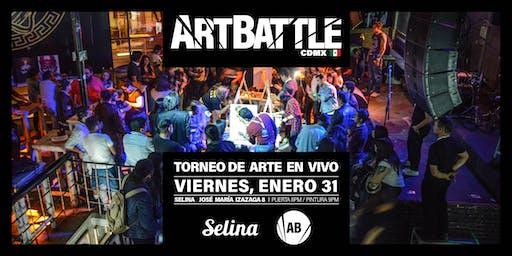 Art Battle Ciudad de México - 31 de enero, 2020