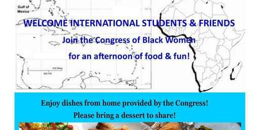 Welcome Lunch for International Students & Friends
