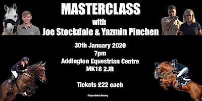Masterclass with Yazmin Pinchen & Joe Stockdale