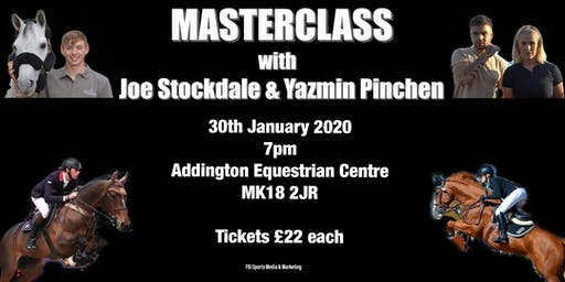 Masterclass with Yazmin Pinchen & Joe Stockdale