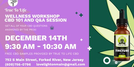 Wellness Workshop | CBD 101 and Q&A Session at Lovelight On Main tickets
