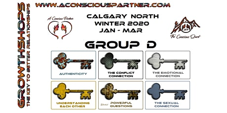 The Conscious Quest - 6 Events - Winter 2020 - Calgary North tickets