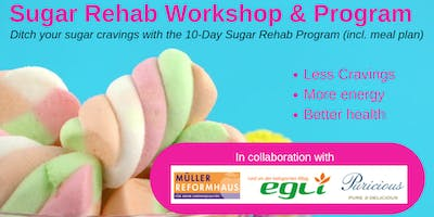 Sugar Rehab Workshop at Egli Bio Zurich - Saturday 21 March 2020 (2-4PM)