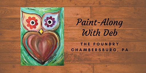 Treat Yourself Tuesday Paint-Along - Owl Be-You-Tiful