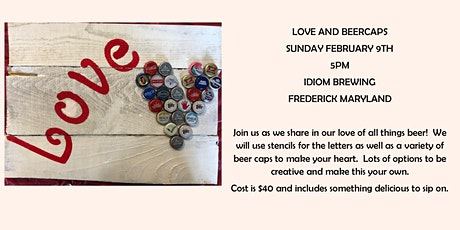 Love and Beer Caps tickets