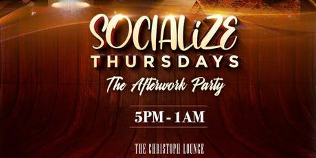 SOCIALiZE THURSDAYS tickets