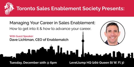 Let's Talk About: The Sales Enablement Job Market tickets