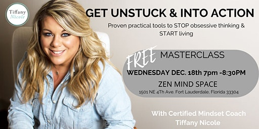 FREE Masterclass: Get Unstuck & Into Action