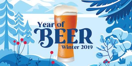 Winter Year of Beer tickets