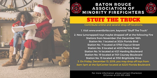 Stuff The Truck with BR Association of Minority FireFighters