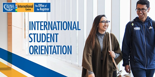 St.James Campus: New International Student Orientation - January 2020