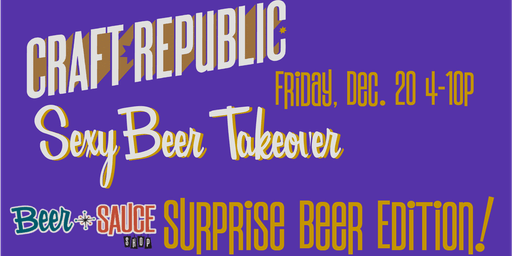 Craft Republic Sexy Beer Tapping