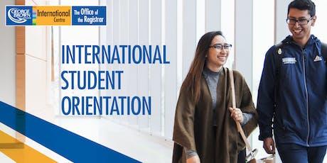 Casa Loma Campus: New International Student Orientation - January 2020 tickets