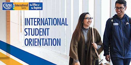 Casa Loma Campus: New International Student Orientation - January 2020