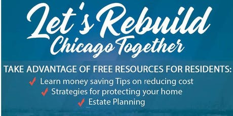 Let's Rebuild! Housing-Cost Savings Resource Fair tickets