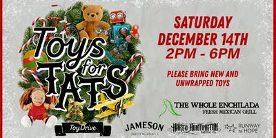Toys For Tats • The Whole Enchilada Winter Garden