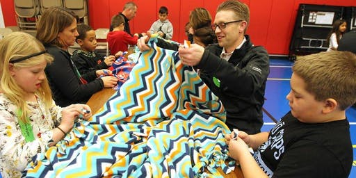 Easy No-Sew Blanket Making for Foster Kids