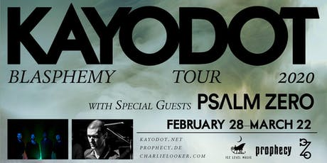 KAYO DOT w/ PSALM ZERO & MORE at The Milestone on Tuesday March 17th 2019 tickets