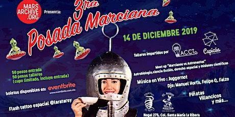 3era Posada Marciana boletos
