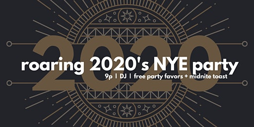Roaring 2020's New Year's Eve Party