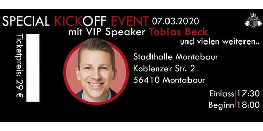 Kick Off Event mit Tobias Beck