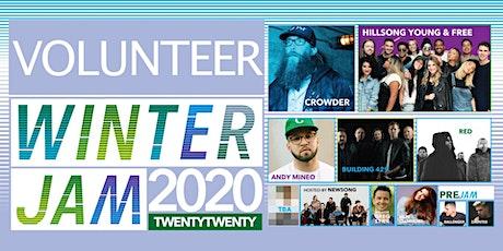 Volunteers Need for Winter Jam 2020 tickets